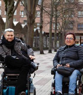Igor Nabarro y Luz Adrianzen