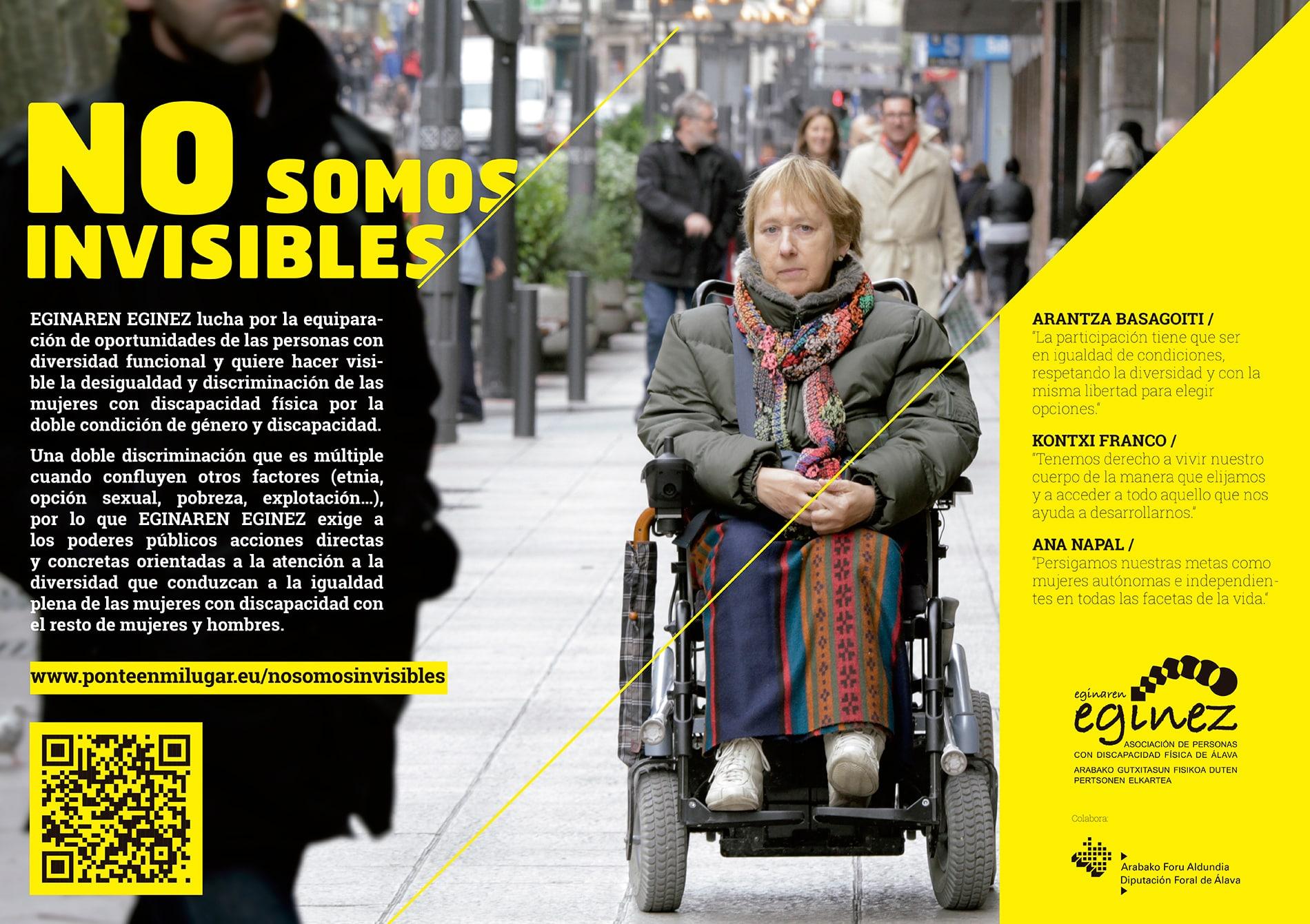 cartel no somos invisibles