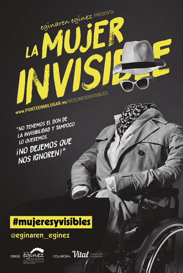 la mujer invisible cartel