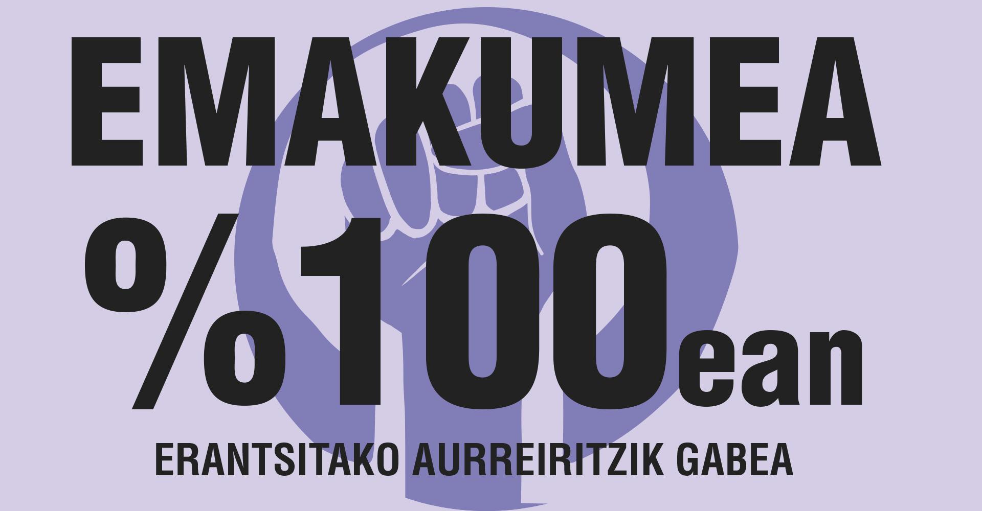 EMAKUMEA %100EAN